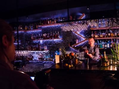 Cocktail-Shoot hos Bar 25